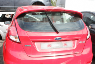 GENUINE FORD FIESTA MK8 ZETEC S TAILGATE WITH SPOILER IN RACE RED 2014 - 2017